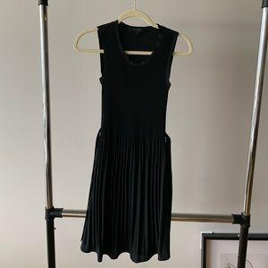 Dress, silk, knee length